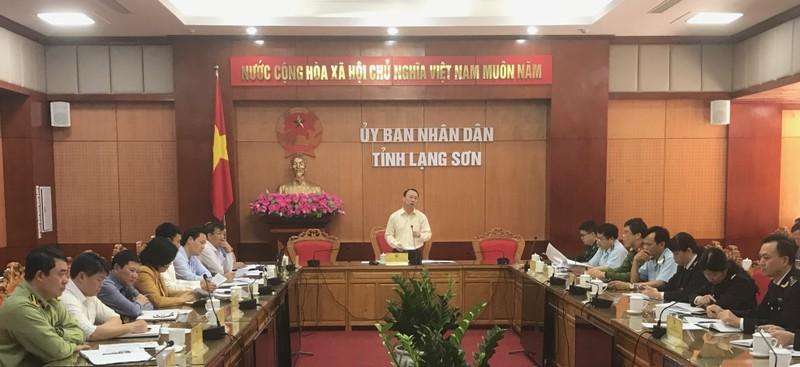 Lạng Sơn khuyến cáo hạn chế đưa hàng hóa xuất khẩu lên các cửa khẩu trong thời gian này