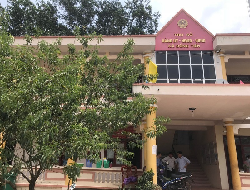 Trụ sở UBND xã Đồng Tiến