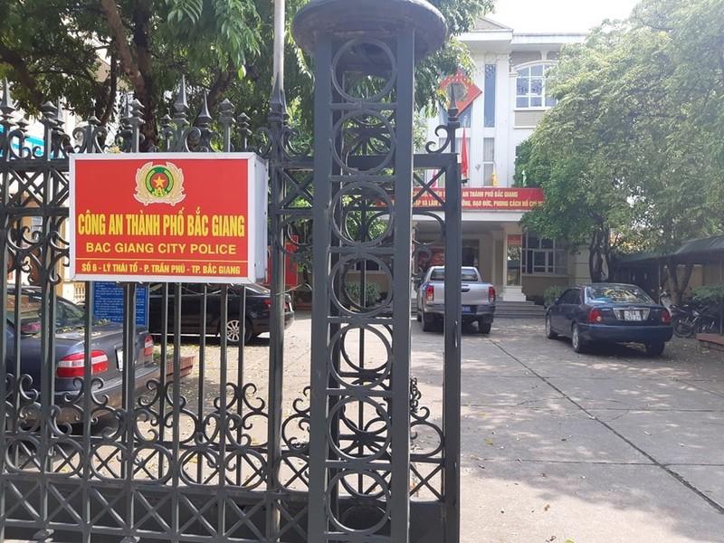 Trụ sở Công an thành phố Bắc Giang