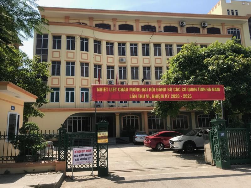 Hà Nam: Ban QL các KCN nói gì về việc không giám sát hoạt động khai thác tài nguyên nước