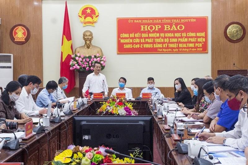 Thái Nguyên: Công bố kết quả nghiên cứu bộ sinh phẩm phát hiện SARS-Cov-2 virus
