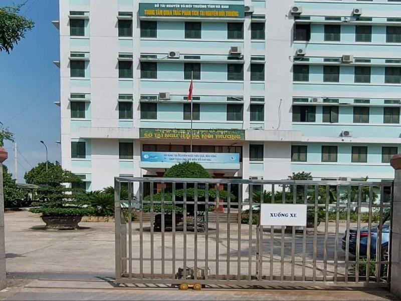 Trụ sở TN&MT tỉnh Hà Nam