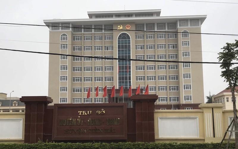 Trụ sở UBND huyện Tiền Hải