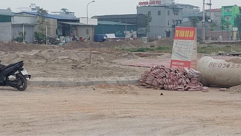 Bắc Ninh: Thận trọng khi mua đất nền tại dự án nhà ở xã Đại Đồng