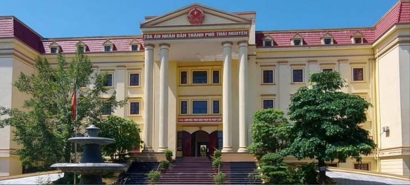 Trụ sở Tòa án nhân dân thành phố Thái Nguyên