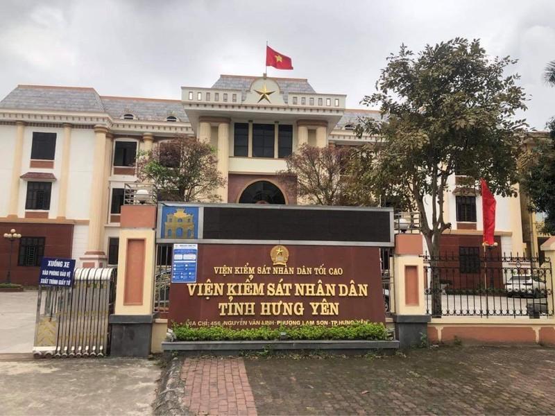 Trụ sở Viện kiểm sát nhân dân tỉnh Hưng Yên.