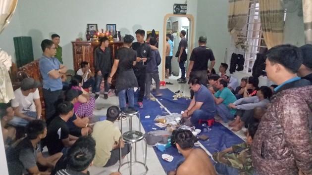 Phá đường dây đánh bạc trang bị camera quy mô lớn tại Đắk Lắk