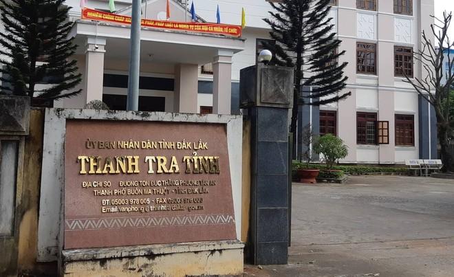 Tạm giữ một cán bộ thanh tra tỉnh Đắk Lắk