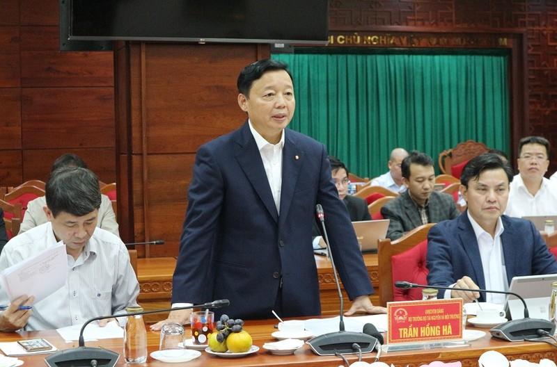 Bộ TN&MT làm việc với tỉnh Đắk Lắk về công tác quản lý tài nguyên và môi trường