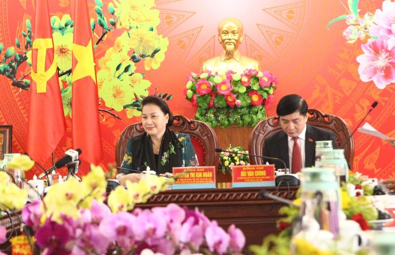 Chủ tịch Quốc hội: Tỉnh Đắk Lắk cần khẩn trương chăm lo Tết cho người nghèo