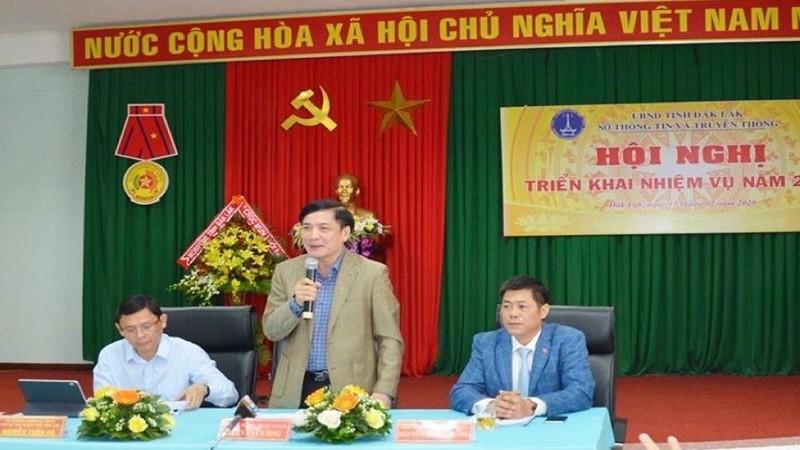 Bí thư tỉnh ủy Đắk Lắk Bùi Văn Cường phát biểu về công tác thi tuyển