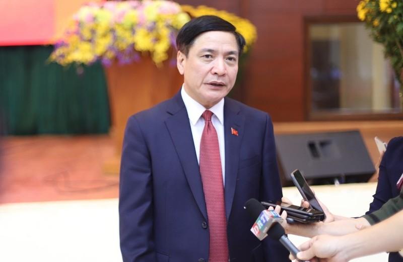 Bí thư Tỉnh ủy Đắk Lắk Bùi Văn Cường trả lời báo chí về việc thí điểm tuyển chọn chức danh bí thư huyện ủy của tỉnh.