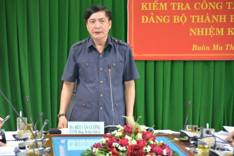 """Bí thư Tỉnh ủy Đắk Lắk chỉ đạo """"công tác nhân sự phải thực hiện nghiêm túc, chặt chẽ và dân chủ"""""""