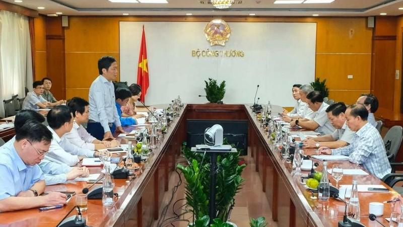Bộ Công thương làm việc với lãnh đạo tỉnh Đắk Nông. Ảnh: Tạp chí Công thương