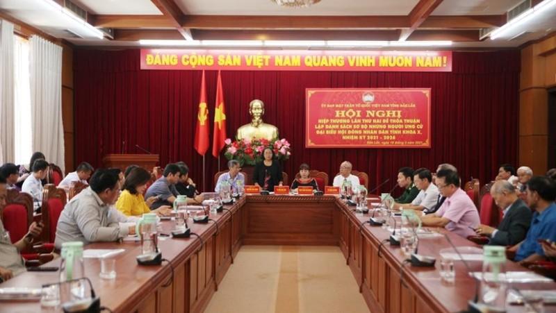 Hội nghị hiệp thương lần 2 của  tỉnh Đắk Lắk.