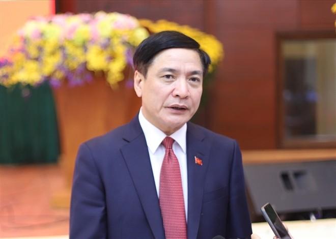 Tân Tổng Thư ký Quốc hội Bùi Văn Cường.