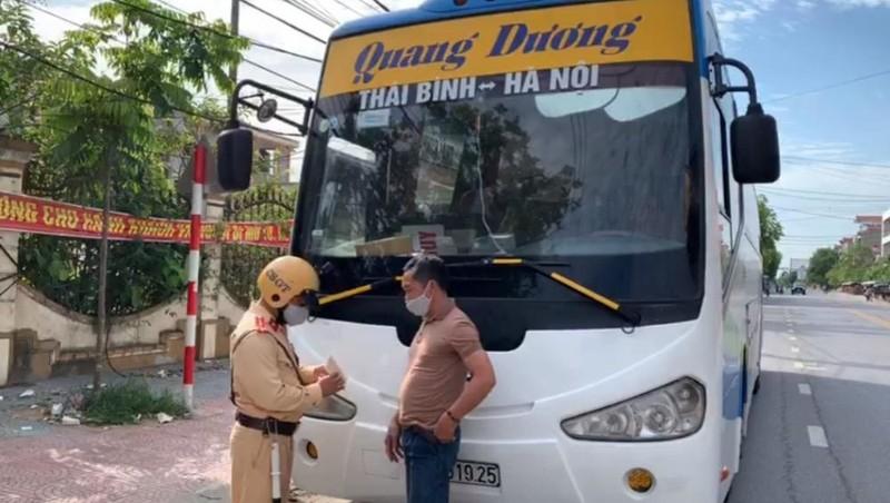Cảnh sát giao thông Thái Bình phát hiện nhiều phương tiện giao thông không có đăng ký