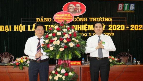 Đại hội Đảng bộ Sở Công Thương Thái Bình nhiệm kỳ 2020 - 2025