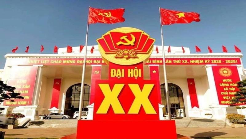 Nhà văn hóa Lao động tỉnh Thái Bình, nơi tổ chức Đại hội đại biểu Đảng bộ tỉnh Thái Bình lần thứ XX, nhiệm kỳ 2020-2025. Ảnh: Trung Du.