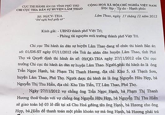 """Thành phố Việt Trì – Phú Thọ:  Người dân """"mỏi mòn"""" chờ cấp sổ đỏ!"""