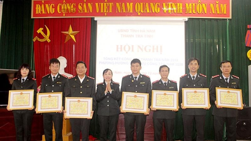 Hà Nam tập trung lực lượng, thực hiện tốt công tác thanh tra trong năm 2020