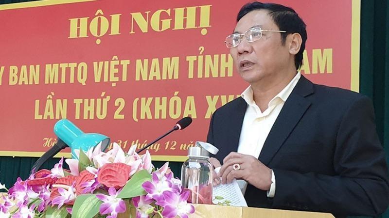 Ủy ban Mặt trận Tổ quốc tỉnh Hà Nam tổ chức Hội nghị tổng kết công tác năm 2019