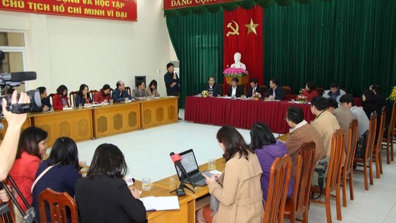 Thứ trưởng Bộ LĐTB&XH làm việc tại Hà Nam về phòng, chống dịch bệnh nCoV