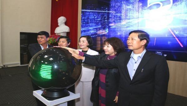 Ninh Bình: Ra mắt và vận hành thí điểm Trung tâm điều hành đô thị thông minh