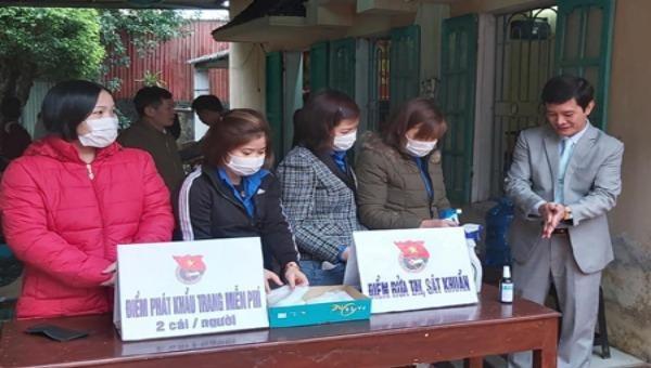 Tuổi trẻ Ninh Bình chung sức phòng, chống dịch bệnh Covid-19