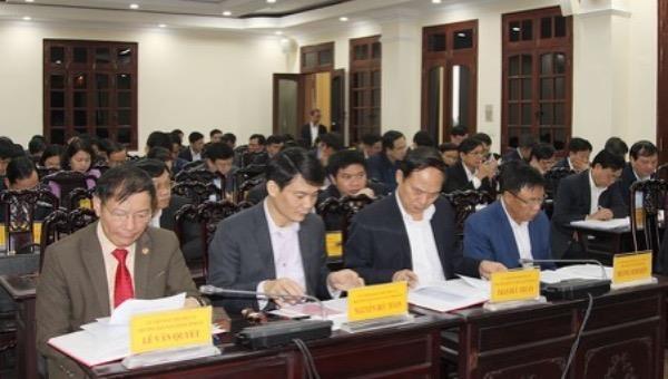 Hà Nam:Thảo luận Dự thảo Báo cáo chính trị (lần 1) trình Đại hội đại biểu Đảng bộ tỉnh lần thứ XX