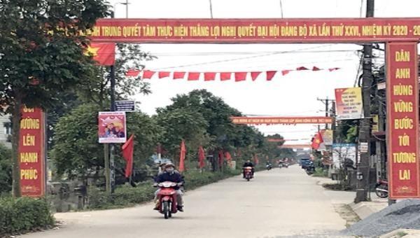 Đảng bộ xã Khánh Trung (huyện Yên Khánh, tỉnh NInh Bình) sẵn sàng cho Đại hội điểm cấp xã, nhiệm kỳ 2020-2025