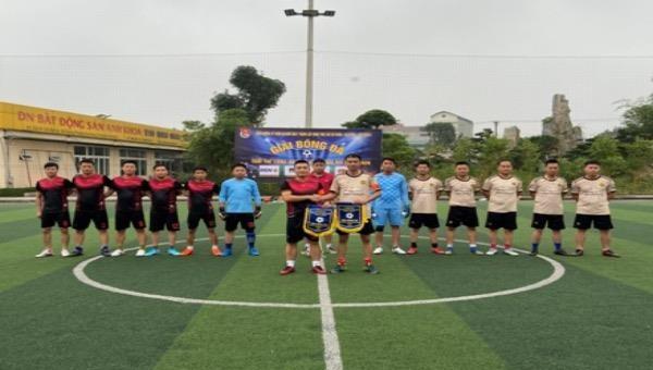 Khai mạc giải bóng đá tuổi trẻ Công an tỉnh Ninh Bình mở rộng năm 2020