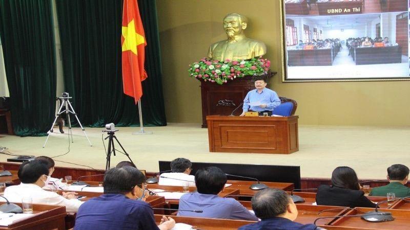 Cuộc họp Ban Chỉ đạo phòng chống dịch bệnh Covid-19 tỉnh Hưng Yên.