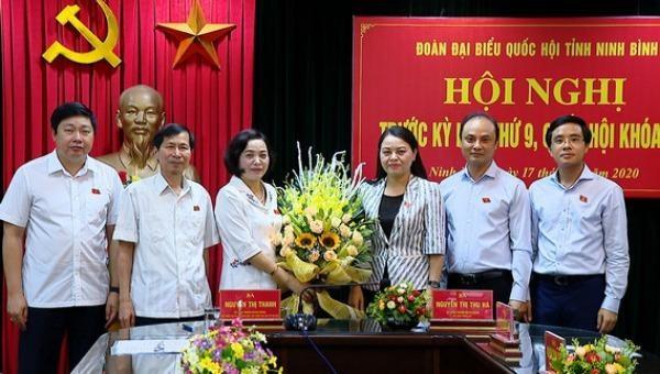 Bí thư Tỉnh ủy Ninh Bình được bầu làm Trưởng đoàn Đại biểu Quốc hội tỉnh Ninh Bình