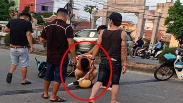Một Cảnh sát giao thông bị thương khi làm nhiệm vụ ở Nam Định