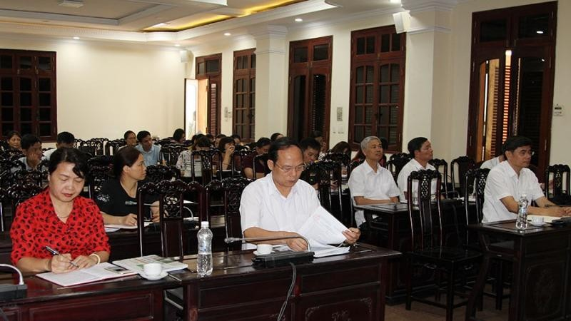Ban Tuyên giáo Tỉnh ủy Hà Nam tổ chức Hội nghị Báo cáo viên tháng 5/2020