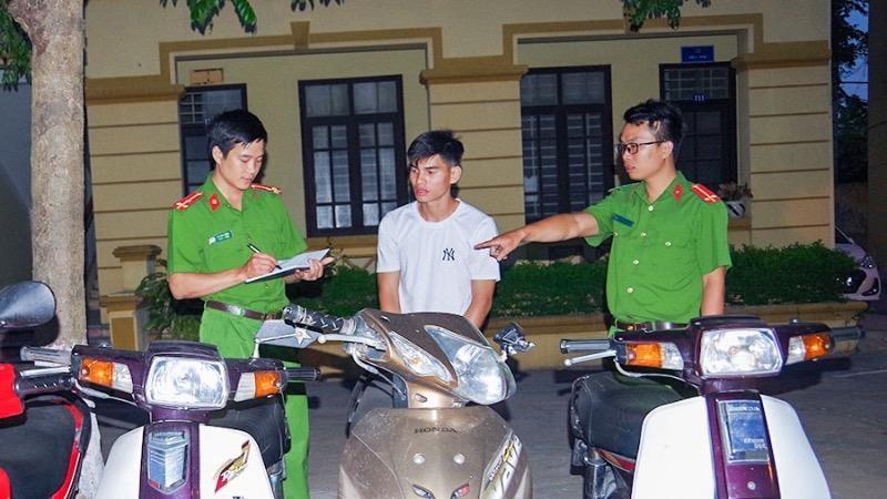 Hà Nam: Bắt giữ đối tượng trộm cắp 04 xe máy trên địa bàn tỉnh