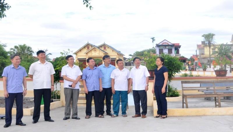 Ninh Bình: Thẩm định hồ sơ công nhận xã đạt chuẩn nông thôn mới, nông thôn kiểu mẫu năm 2020