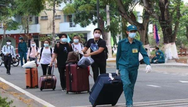 175 công dân về từ châu Âu hoàn thành cách ly ở Thái Bình