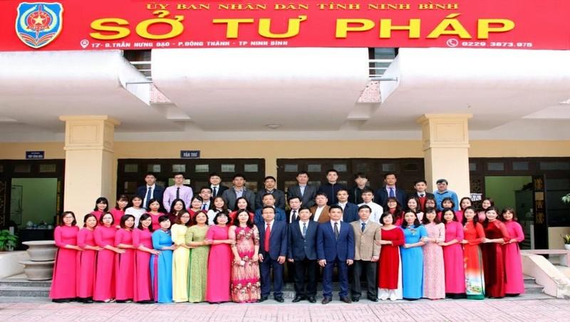 Tư pháp Ninh Bình không ngừng đổi mới, sáng tạo, đoàn kết và phát triển, chào mừng 75 năm thành lập ngành
