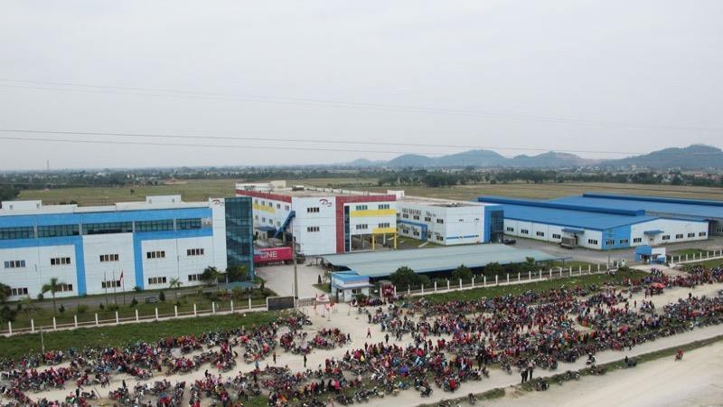 Trên 2.000 lao động Hà Nam tại doanh nghiệp FDI nghỉ việc do dịch Covid-19