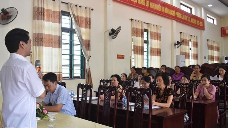 Đào tạo, bồi dưỡng nghiệp vụ cho đội ngũ nhân viên, cộng tác viên đại lý thu BHXH, BHYT trên địa bàn tỉnh Hà Nam