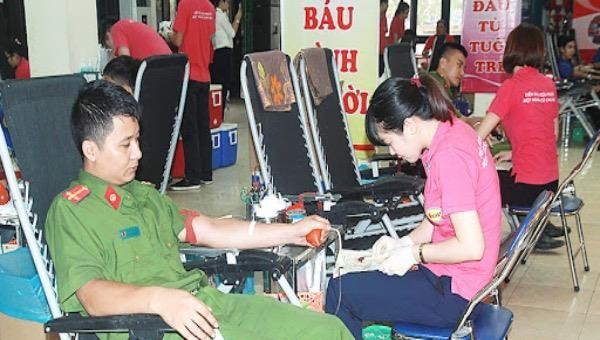Tổ chức Ngày hội Hiến máu nhân đạo năm 2020 trên địa bàn tỉnh Nam Định