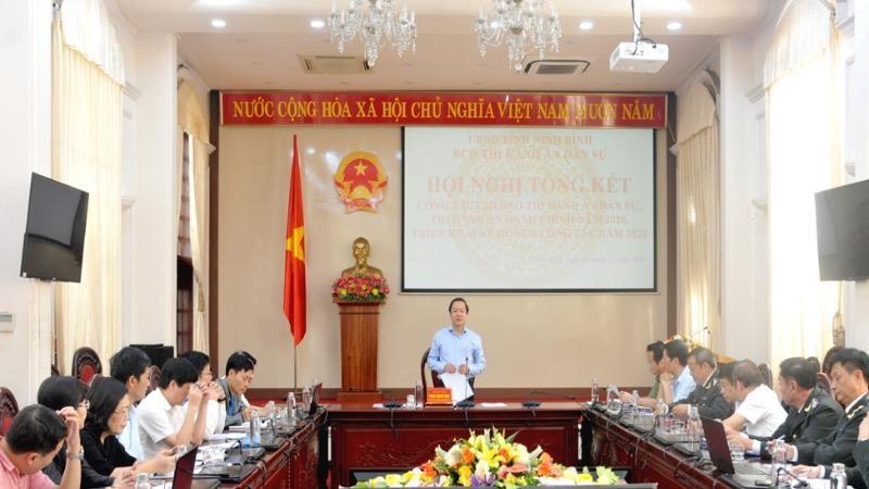 Ninh Bình tiếp tục tăng cường công tác phối hợp giữa các cấp, ngành trong thi hành án dân sự