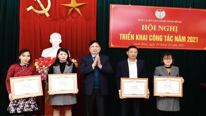 Ninh Bình: Hội Luật gia tỉnh triển khai nhiệm vụ công tác năm 2021
