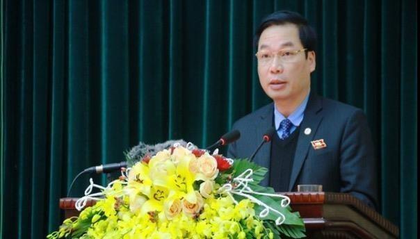 Phó Chủ tịch thường trực UBND tỉnh Ninh Bình Tống Quang Thìn.