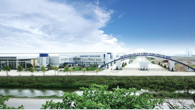 Nhà máy sản xuất ô tô Hyundai Thành Công.