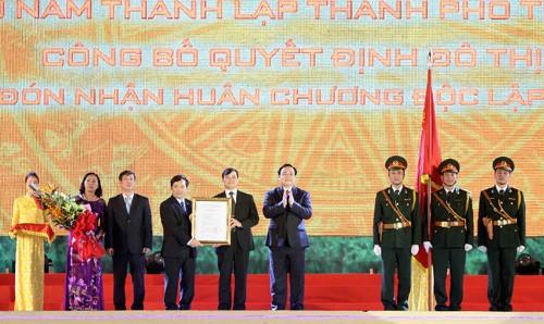 Thành phố Thanh Hóa được công nhận lên đô thị loại 1