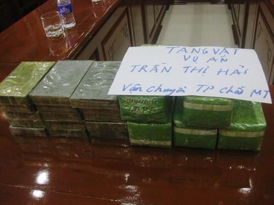 Thanh Hóa: Bắt vụ vận chuyển 15 bánh heroin và gần 5 kg ma túy tổng hợp