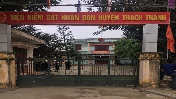 Thanh Hóa: Viện phó viện kiểm sát huyện  tử vong trong tư thế treo cổ tại phòng làm việc